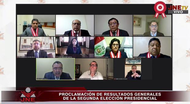 JNE proclamó finalmente a Pedro Castillo como el próximo Presidente del Perú, después de 6 semanas de incertidumbre
