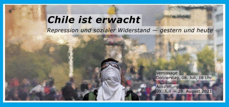 """Exposición fotográfica de Chile en Berlín: """"Represión y Resistencia Social en Chile: Ayer y Hoy"""""""