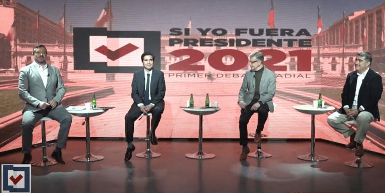 La discusión sobre las pensiones de las FF.AA. y Carabineros toma cuerpo en el debate presidencial de Chile Vamos