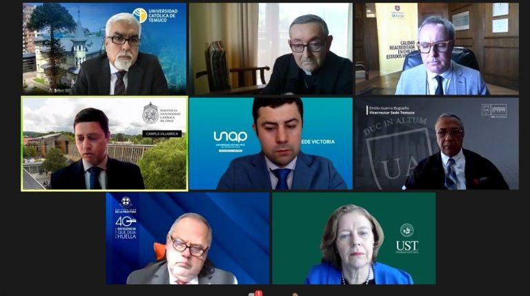 Senador Huenchumilla valora posible mediación de centro noruego en conflicto en La Araucanía