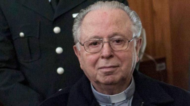 A los 90 años murió el exsacerdote Fernando Karadima