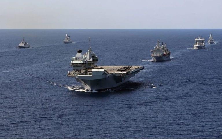Reino Unido desplegará permanentemente dos buques de guerra en aguas asiáticas