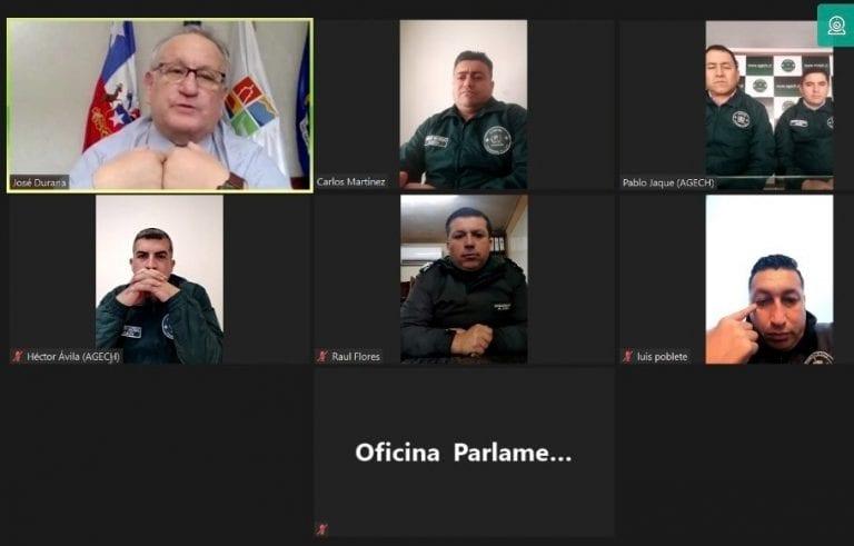 Funcionarios de Gendarmería se niegan a formar parte de nuevo Ministerio de Seguridad Pública