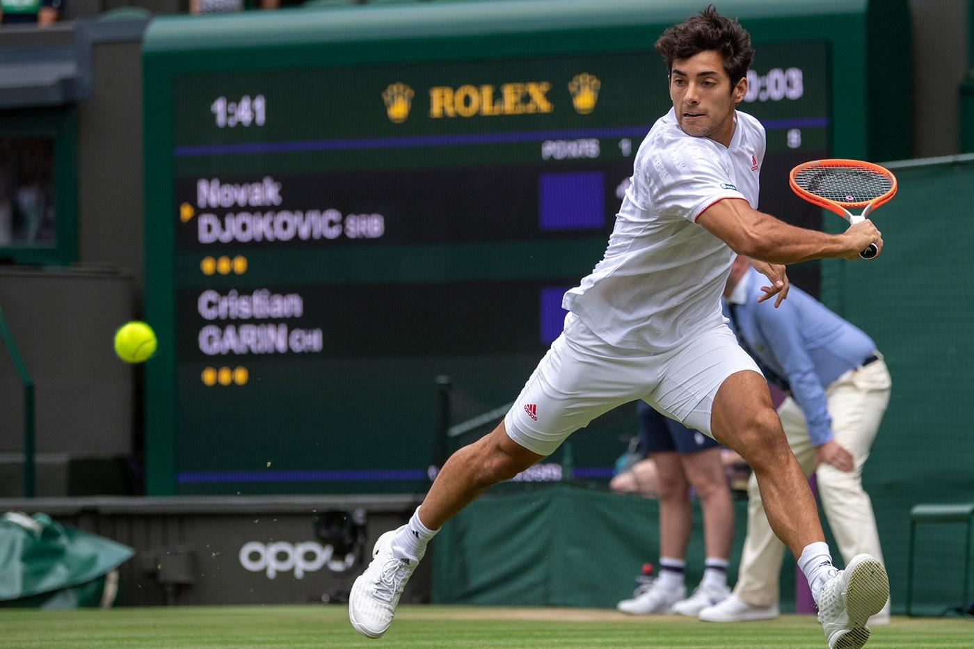 Garín no pudo con Djokovic y se despide de Wimbledon   Infogate