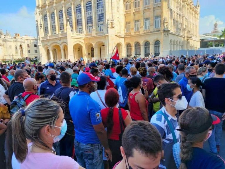 PS se pliega a petitorios para que gobierno de Cuba respete las manifestaciones sociales