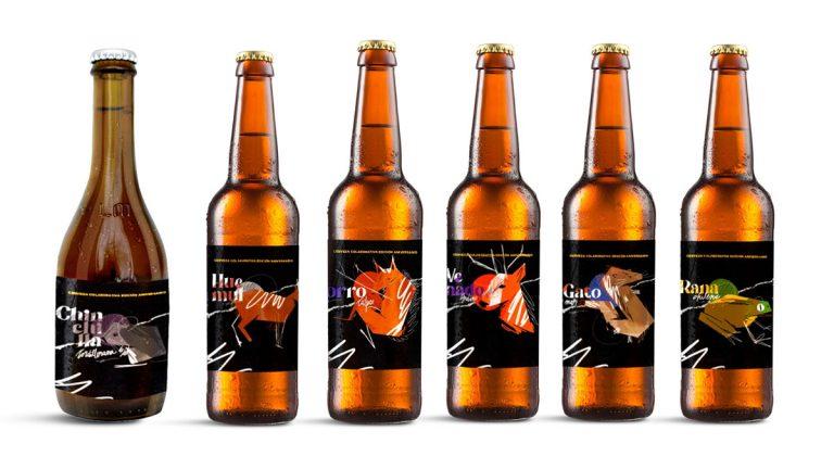 Edición limitada de cervezas se inspira en animales en peligro de extinción