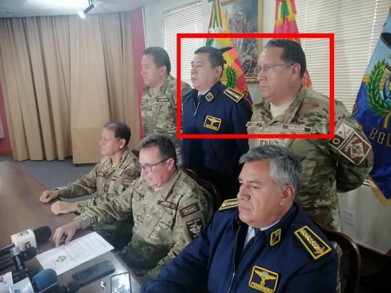 Bolivia: Detienen a ex jefes de la Fuerza Aérea y Armada por golpe de Estado a Evo Morales en 2019