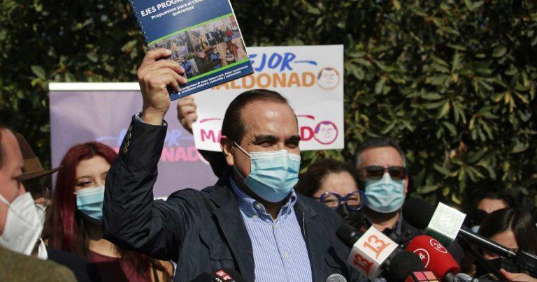 Carlos Maldonado presentó su programa de Gobierno de cara a las primarias de Unidad Constituyente