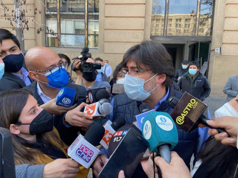 El tenso reencuentro de Jadue con la prensa tras las primarias