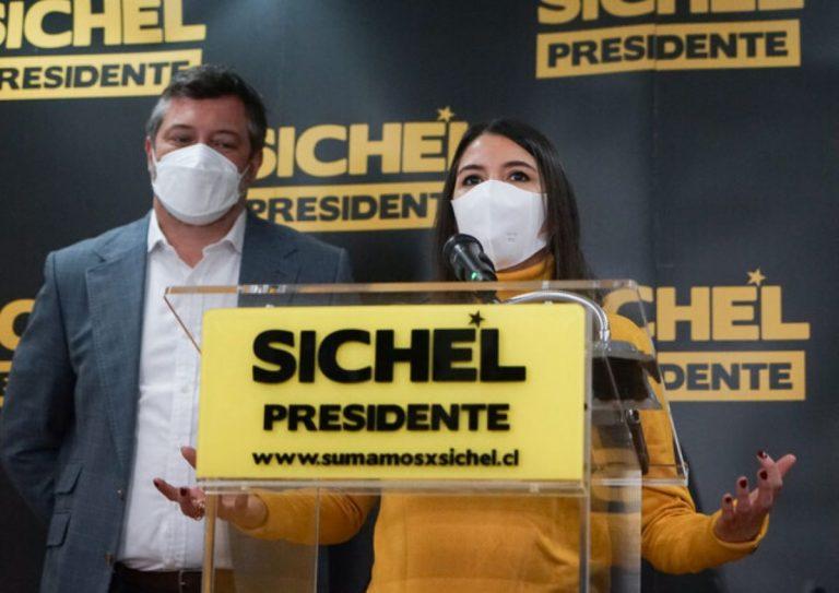 Sichel presentó a Martorell como nueva vocera de su equipo de campaña