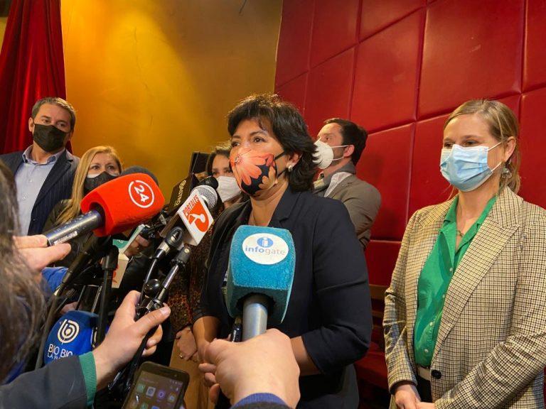 Provoste confirma que el PRO queda fuera de la lista parlamentaria de Unidad Constituyente