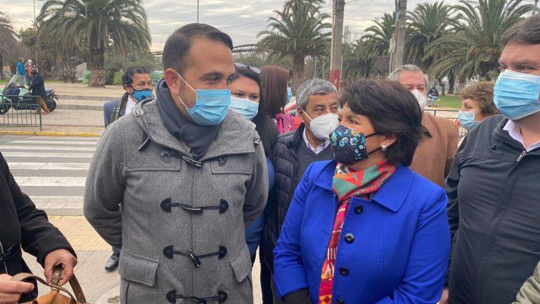 """En San Ramón, Provoste apunta a la """"incapacidad"""" del Gobierno por la delincuencia desatada: """"La pandemia ha sido un buen tiempo para el crimen"""""""
