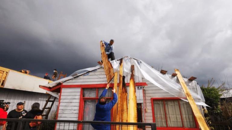 Nuevo informe de la Onemi por sistema frontal arroja más de 150 viviendas con daños