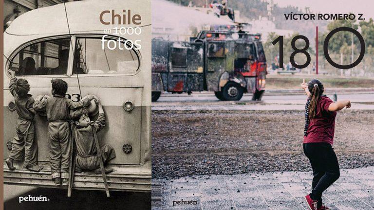En el Mes de la Fotografía: libros que hacen un recorrido patrimonial y político de Chile