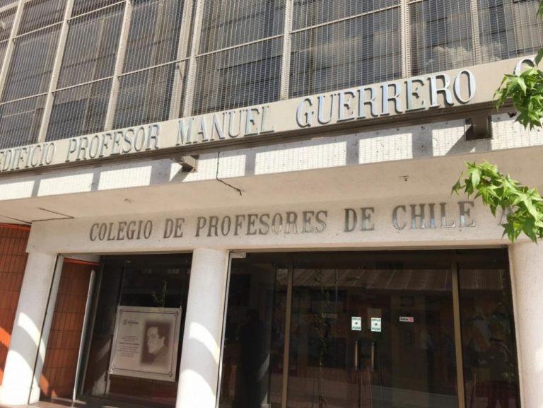 Metropolitano del Colegio de Profesores pone en duda robo en la sede comunal