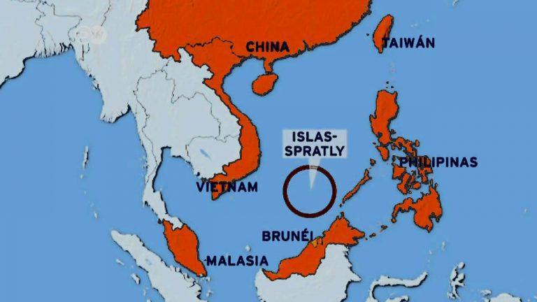 Por fuerte presencia militar china en el Mar de China, EEUU ratifica apoyo a sus aliados del  Sudeste Asiático