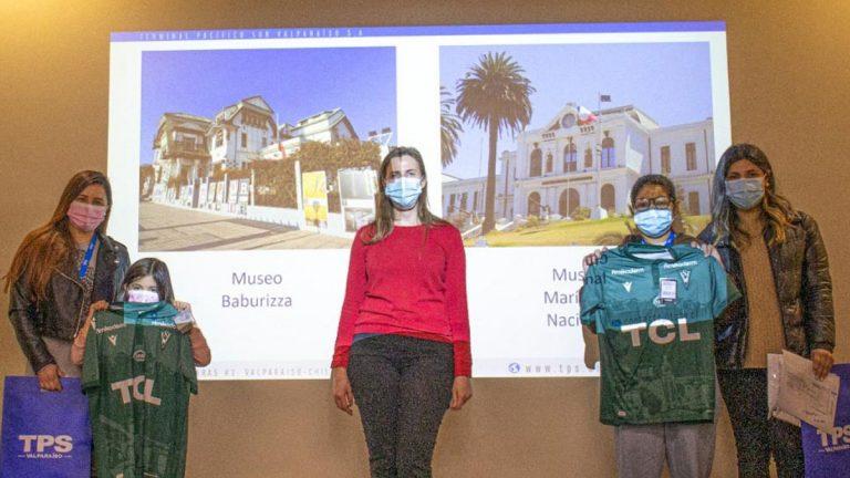 TPS premió obras infantiles que retrataron Valparaíso