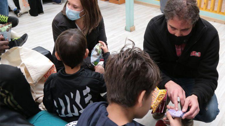 Colaciones saludables para 5500 niños del Sename