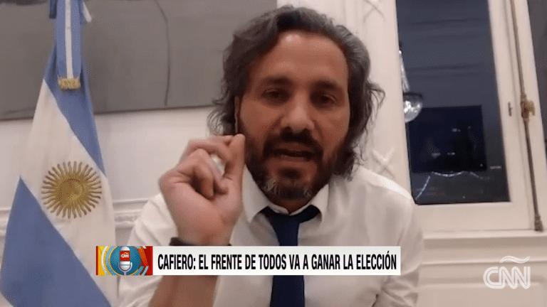 """Santiago Cafiero sostuvo que el Gobierno chileno busca un """"golpe de efecto electoral"""" con declaratoria sobre plataforma continental"""