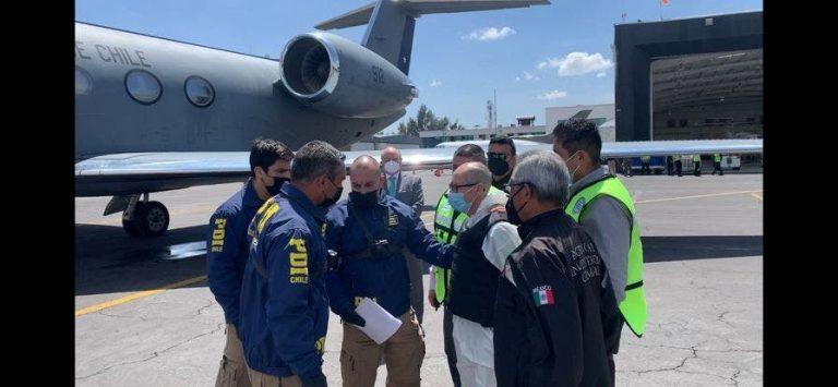 """El """"Comandante Emilio"""" fue extraditado este miércoles desde México a Chile"""