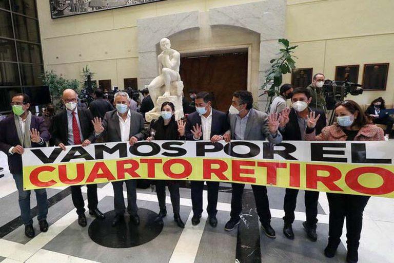"""UDI reafirma rechazo al cuarto retiro, descarta sanciones pero llama a la """"responsabilidad"""""""