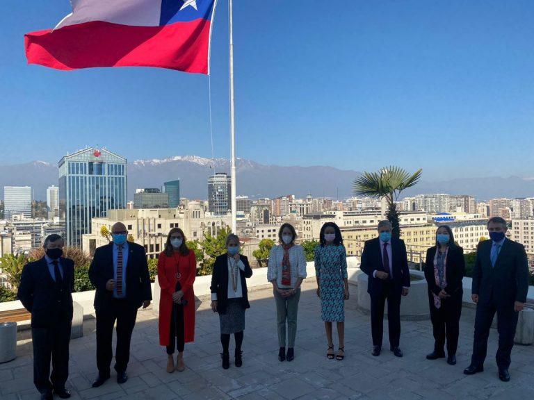Delegación de eurodiputados visita Chile para conocer el proceso constituyente y el avance del Acuerdo de Asociación bilateral