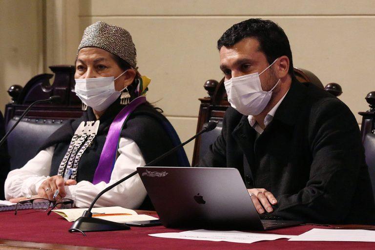 Convención Constituyente presenta antecedentes de Rojas Vade a la Fiscalía Centro Norte