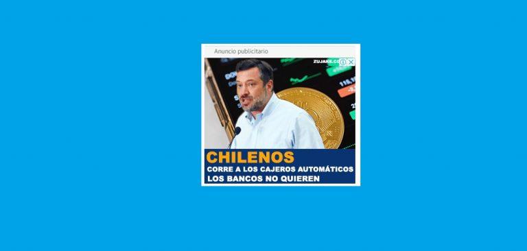 """El extraño anuncio en internet para invertir en criptomonedas que usa la imagen y """"cuñas"""" de Sebastián Sichel… ¿Qué dirá el candidato al respecto?"""