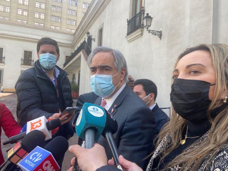 """Chahuán emplazó directamente a Piñera en La Moneda: """"Presidente, saque adelante la reforma previsional y reforma a la salud"""""""