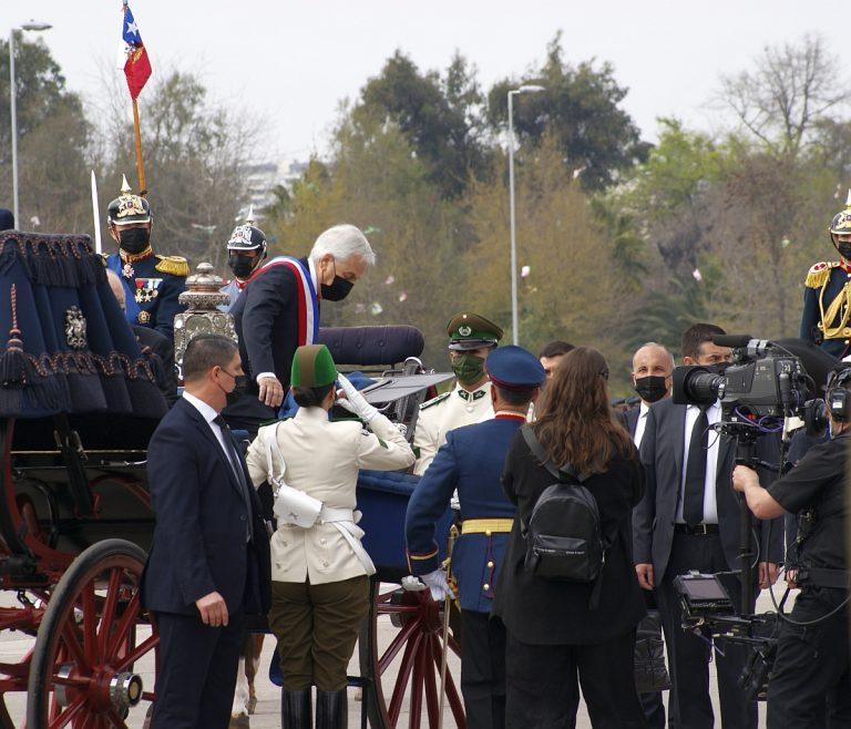 Las imágenes de la última Parada Militar de Sebastián Piñera