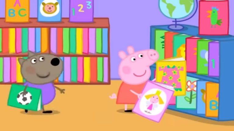 Peppa Pig y Discovery Kids se unen a familias para fomentar la primera experiencia de lectura de niñas y niños