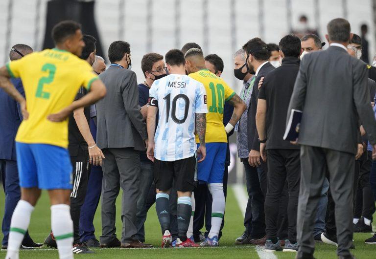 Bochorno sudamericano: Partido entre Brasil y Argentina se suspende hasta nuevo aviso