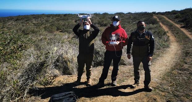 CONAF incorpora vigilancia con drones para aumentar la protección a los parques nacionales