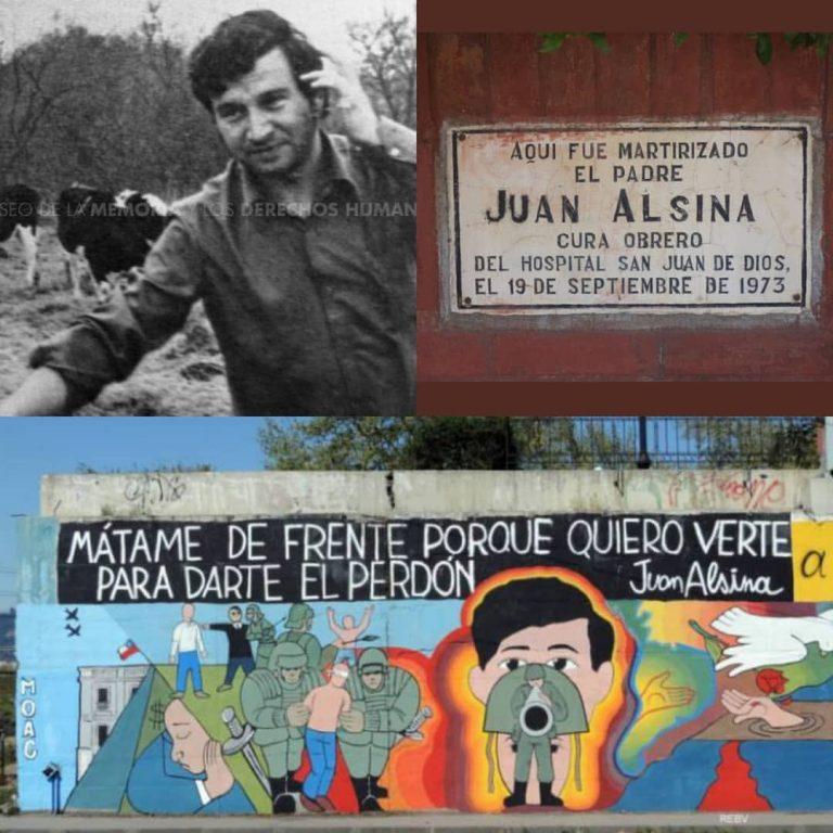 Este 19 de septiembre se conmemora un año más del fusilamiento del sacerdote Joan Alsina