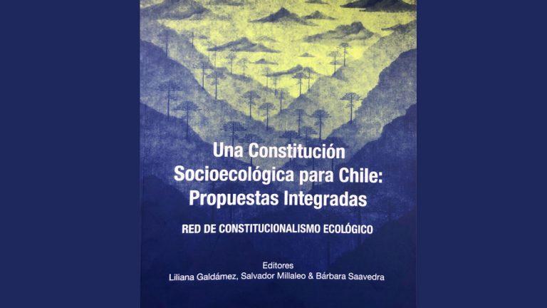 Libro reúne a 32 autores que desarrollan propuesta con los contenidos ecológicos esenciales para la nueva Constitución