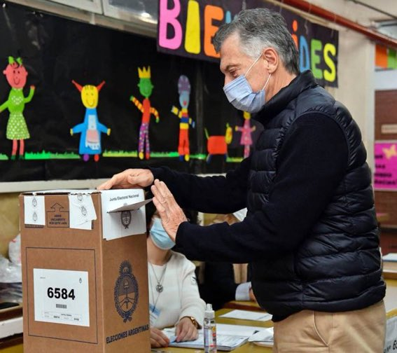 PASO: Principal bloque opositor saca ventaja de 5 puntos en elecciones primarias en Argentina