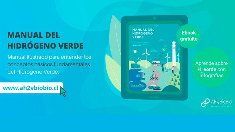 Desde la Región del Biobío se lanzó el primer manual ilustrado del hidrógeno verde gratuito