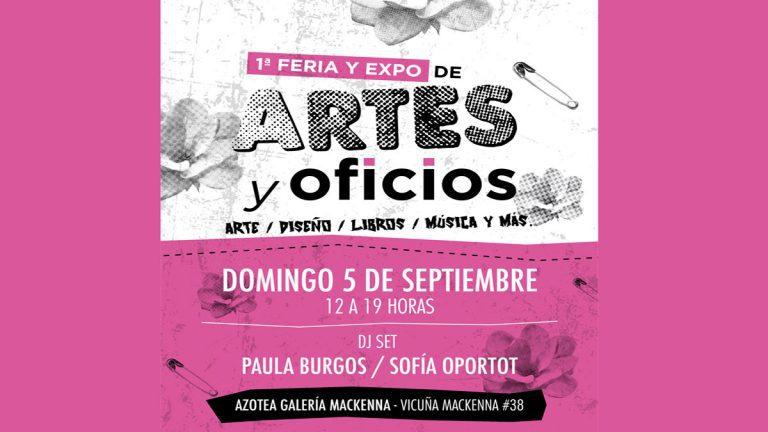 Primera versión Feria y Expo de Artes y Oficios