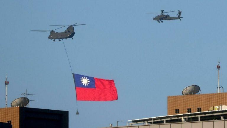 Taiwán acusó a China de incursionar ayer lunes en su zona de defensa aérea con 56 aviones de combate