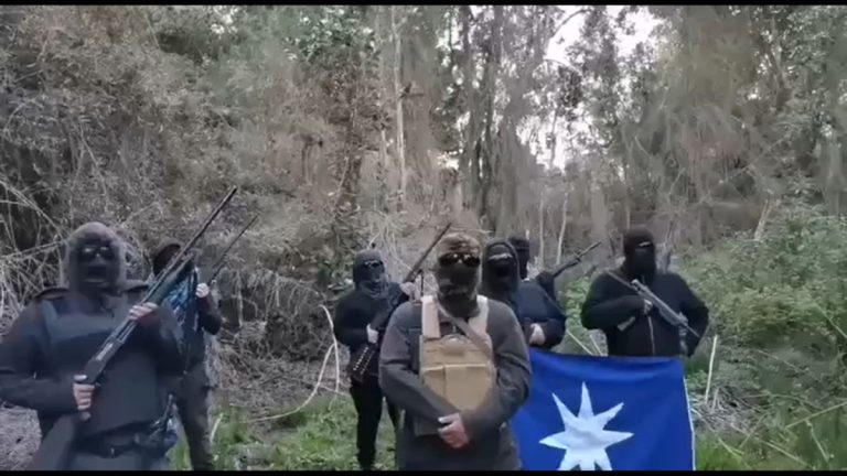 Conaf pidió desalojo de instalaciones en Reserva Nacional Malleco ocupadas por grupo armado