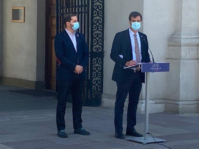 """Gobierno """"invita"""" al Senado a que ponga en votación proyecto de indulto: """"Es hora de que los chilenos sepan cómo votan sus parlamentarios"""""""