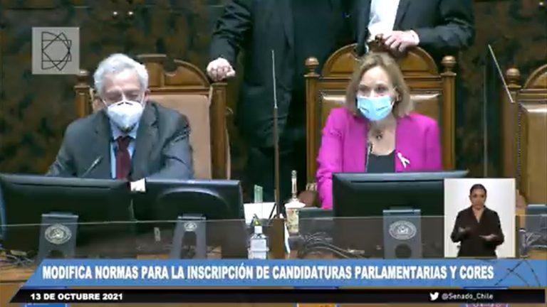 La cocina parlamentaria entra en escena: Senado aprobó ley express para permitir candidaturas impugnadas por el Servel