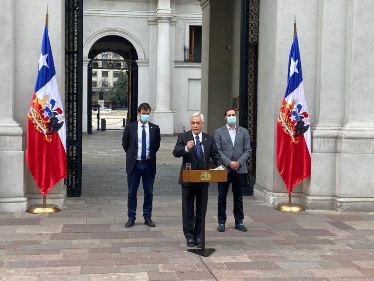 Piñera dijo no compartir anuncio de la Fiscalía y reiteró su confianza en que la Justicia confirmará la inexistencia de irregularidades y su inocencia