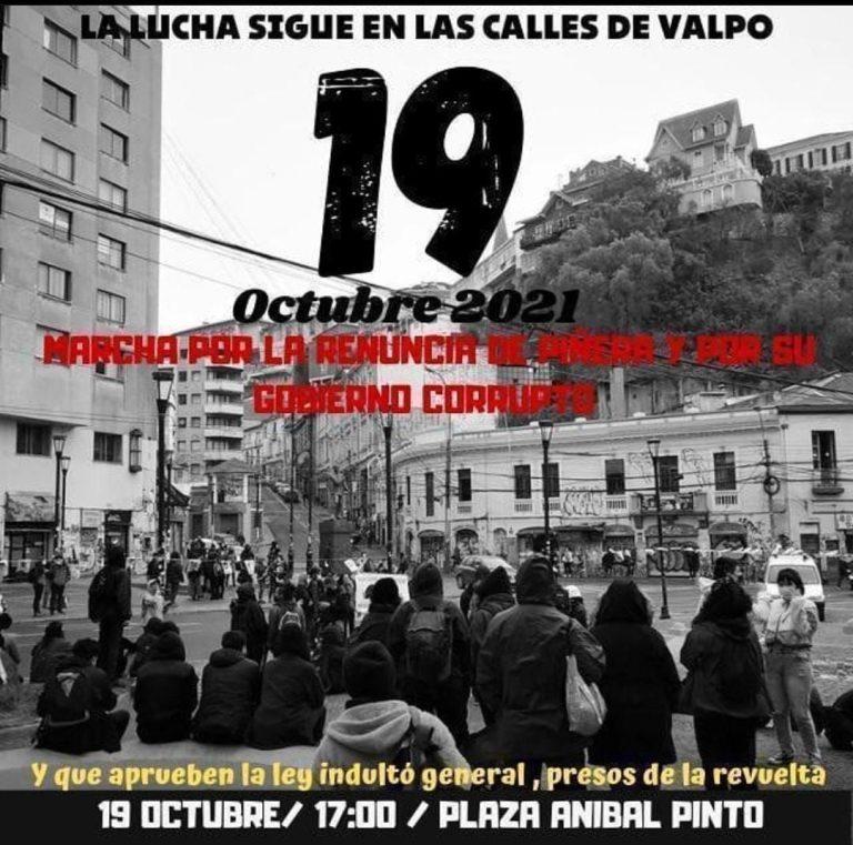 Continúan las manifestaciones para esta jornada y que se extenderán hasta el miércoles