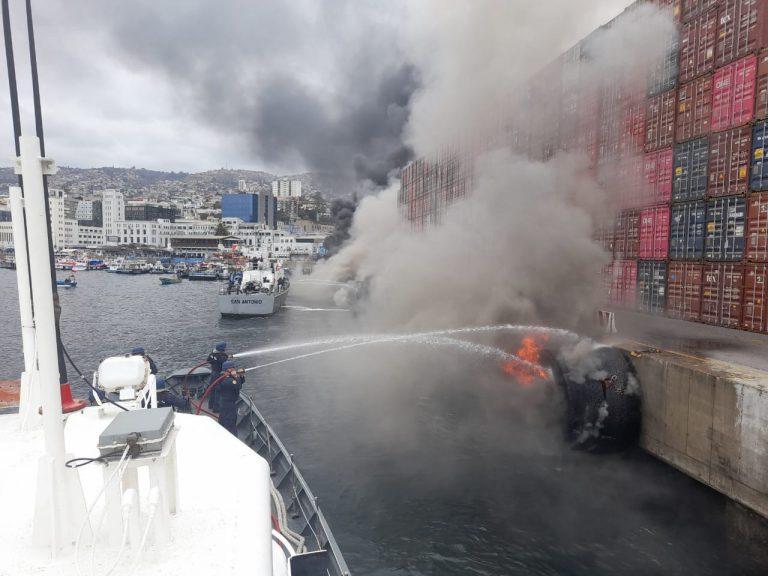 Delegado Presidencial de Valparaíso defiende accionar de personal naval en violenta protesta de pescadores artesanales