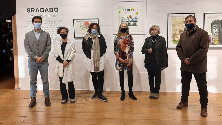 Fundación Bosque Nativo inaugura exposición con ganadores de Concurso Nacional de Grabado