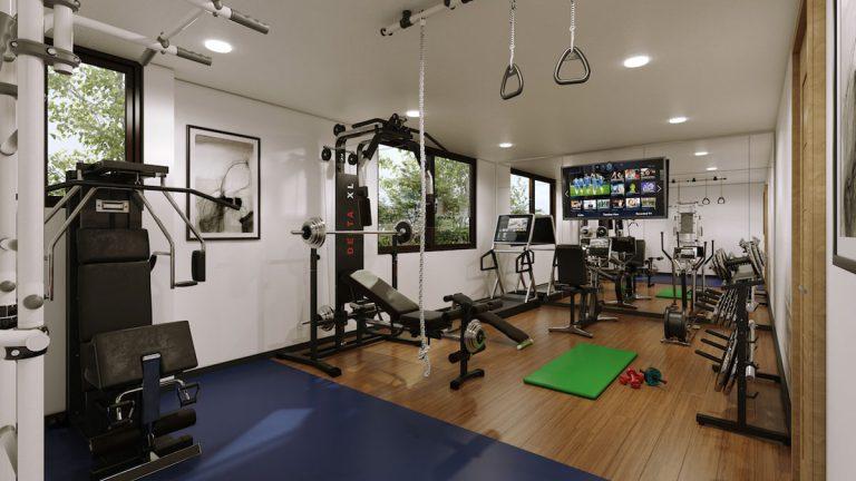 Open Space: Convierte este espacio flexible dentro de tu hogar en el gimnasio ideal