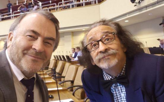 Pepe Auth y Florcita Motuda en la quina de diputados que revisarán la Acusación Constitucional contra Piñera