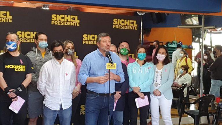 Sichel admite problemas en su campaña, pero apuesta al despliegue territorial