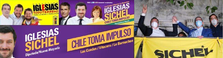 """Sichel – Iglesias hace carne el viejo dicho """"Tu pasado te condena"""": Nueva polémica enreda al candidato que culpa a su ex partido la DC"""